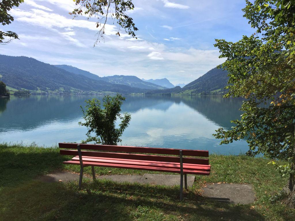 Bänk i Schweiz